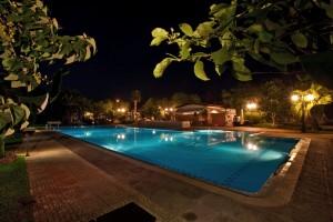 La piscina - Giardino dei Pavoni